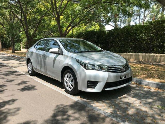 Used Toyota Corolla ZRE172R Ascent S-CVT, 2016 Toyota Corolla ZRE172R Ascent S-CVT Silver 7 Speed Constant Variable Sedan