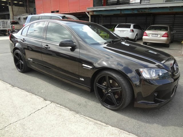 Used Holden Commodore VE MY09 SS, 2008 Holden Commodore VE MY09 SS Black 6 Speed Manual Sedan