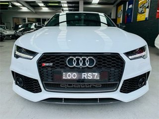 2016 Audi RS7 4G Performance Ibis White Sports Automatic Hatchback.