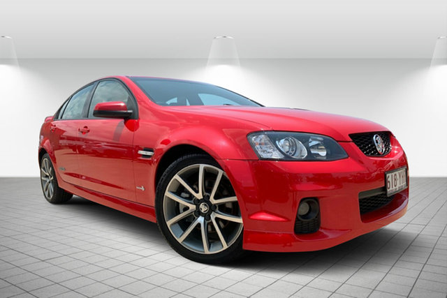 Used Holden Commodore VE II SS V, 2011 Holden Commodore VE II SS V Red 6 Speed Sports Automatic Sedan