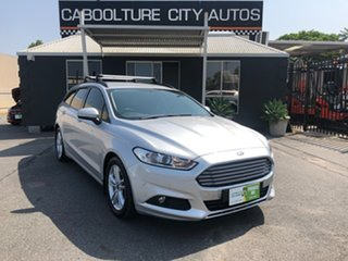 2016 Ford Mondeo MD Ambiente TDCi Silver 6 Speed Automatic Wagon.