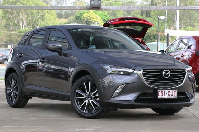 Used Mazda CX-3 DK2W7A sTouring SKYACTIV-Drive, 2017 Mazda CX-3 DK2W7A sTouring SKYACTIV-Drive Meteor Grey 6 Speed Sports Automatic Wagon