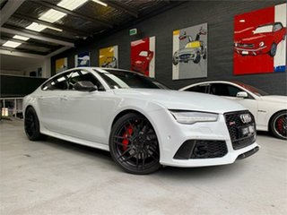 2016 Audi RS7 4G Performance Ibis White Sports Automatic Hatchback