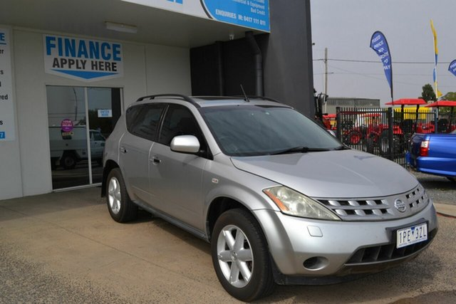 Used Nissan Murano Z50 TI, 2005 Nissan Murano Z50 TI Silver Continuous Variable Wagon