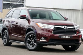 2016 Toyota Kluger GSU50R GXL 2WD Burgundy 8 Speed Sports Automatic Wagon.