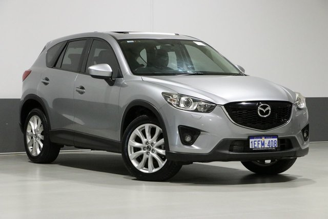 Used Mazda CX-5  Grand Tourer (4x4), 2013 Mazda CX-5 Grand Tourer (4x4) Silver 6 Speed Automatic Wagon