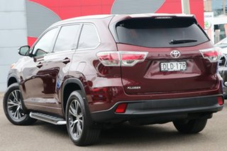 2016 Toyota Kluger GSU50R GXL 2WD Burgundy 8 Speed Sports Automatic Wagon