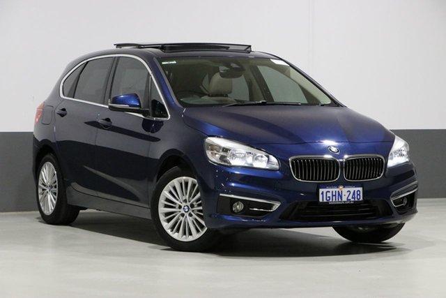 Used BMW 218i F45 Active Tourer Luxury Line, 2015 BMW 218i F45 Active Tourer Luxury Line Blue 6 Speed Automatic Wagon