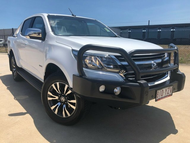 Used Holden Colorado RG MY19 LTZ Pickup Crew Cab, 2019 Holden Colorado RG MY19 LTZ Pickup Crew Cab Summit White 6 Speed Sports Automatic Utility