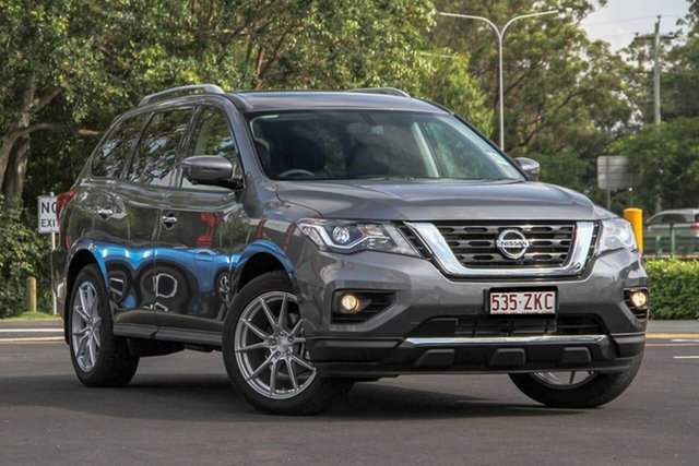 Demo Nissan Pathfinder R52 Series III MY19 ST-L X-tronic 2WD Aspley, 2019 Nissan Pathfinder R52 Series III MY19 ST-L X-tronic 2WD Gun Metallic 1 Speed Constant Variable