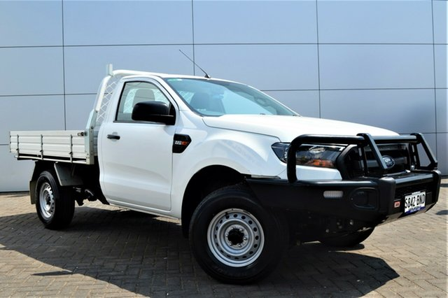Used Ford Ranger PX MkII XL 4x2, 2016 Ford Ranger PX MkII XL 4x2 White 6 Speed Manual Cab Chassis