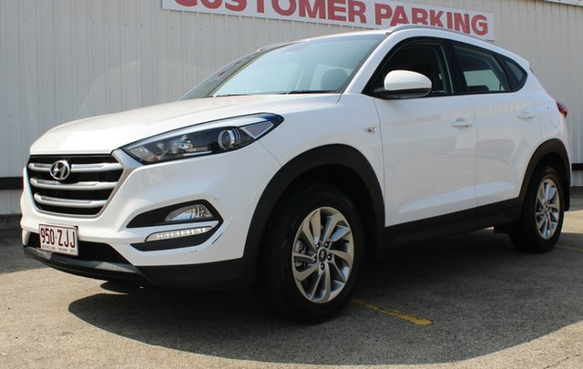 Used Hyundai Tucson TL2 MY18 Active 2WD, 2017 Hyundai Tucson TL2 MY18 Active 2WD White 6 Speed Manual Wagon