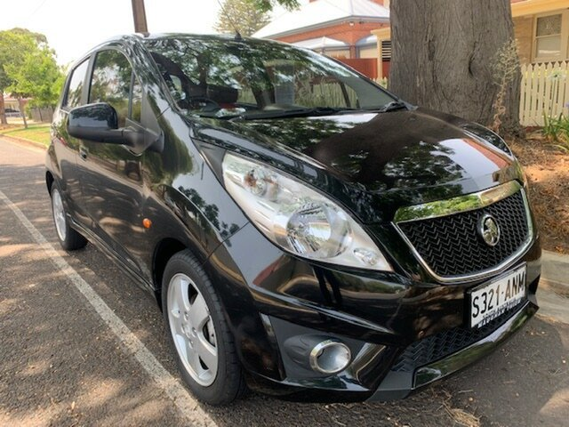 Used Holden Barina Spark MJ MY11 CDX, 2010 Holden Barina Spark MJ MY11 CDX Black 5 Speed Manual Hatchback