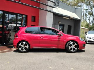 2010 Volkswagen Golf VI MY10 GTI DSG Red 6 Speed Sports Automatic Dual Clutch Hatchback.