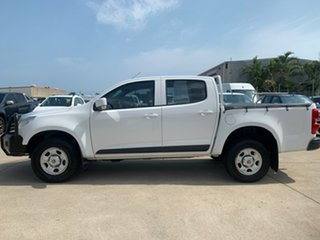 2013 Holden Colorado RG MY14 LX Crew Cab White 6 Speed Manual Utility