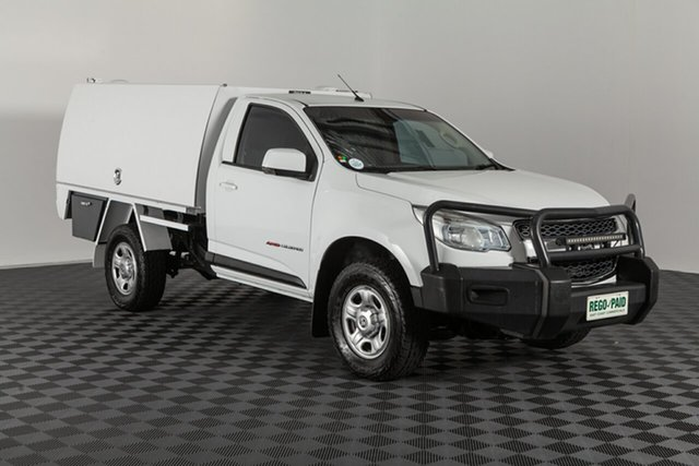 Used Holden Colorado RG MY15 LS, 2015 Holden Colorado RG MY15 LS Summit White 6 speed Automatic Cab Chassis