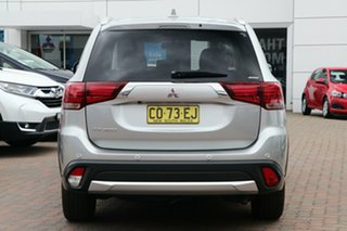 2017 Mitsubishi Outlander ZK MY17 LS 4WD Safety Pack Silver 6 Speed Constant Variable Wagon