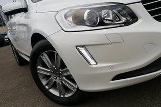 2015 Volvo XC60 DZ MY15 T5 Geartronic Luxury White 8 Speed Sports Automatic Wagon.
