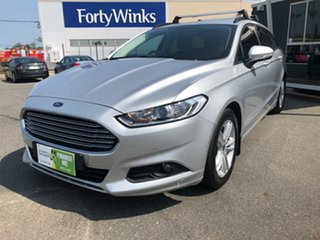 2016 Ford Mondeo MD Ambiente TDCi Silver 6 Speed Automatic Wagon