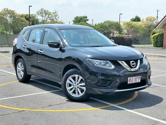 Used Nissan X-Trail T32 ST (FWD), 2016 Nissan X-Trail T32 ST (FWD) Black Continuous Variable Wagon