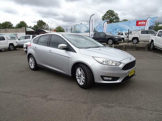 Used Ford Focus LZ Trend, 2017 Ford Focus LZ Trend Ingot Silver 6 Speed Automatic Hatchback