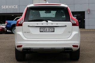 2015 Volvo XC60 DZ MY15 T5 Geartronic Luxury White 8 Speed Sports Automatic Wagon