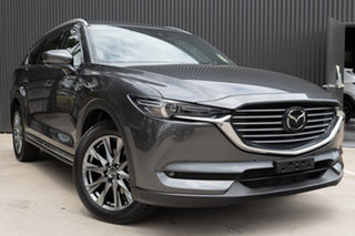 2019 Mazda CX-8 KG4W2A Asaki SKYACTIV-Drive i-ACTIV AWD Machine Grey 6 Speed Sports Automatic Wagon.