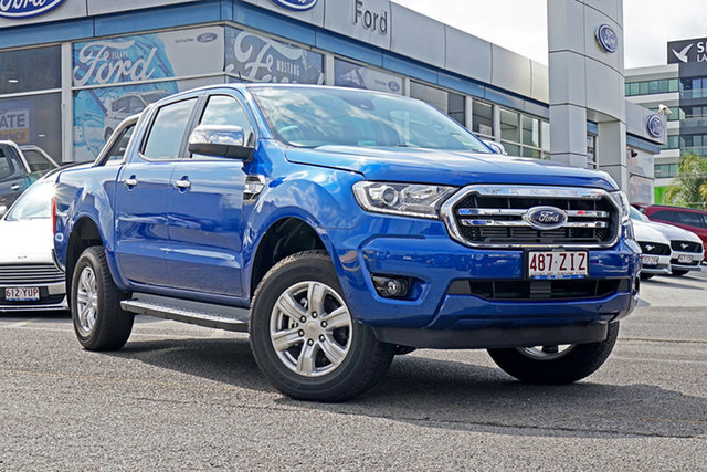 Used Ford Ranger PX MkIII 2019.75MY XLT Pick-up Double Cab, 2019 Ford Ranger PX MkIII 2019.75MY XLT Pick-up Double Cab Blue 6 Speed Sports Automatic Utility