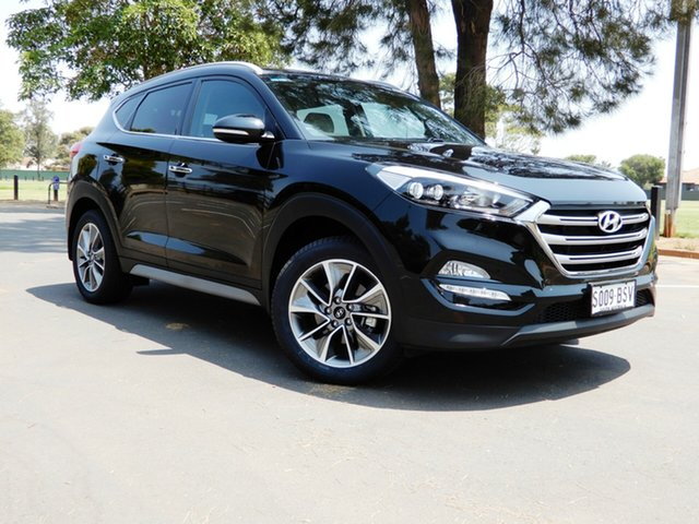 Used Hyundai Tucson TLe MY17 Elite 2WD, 2017 Hyundai Tucson TLe MY17 Elite 2WD Black 6 Speed Sports Automatic Wagon