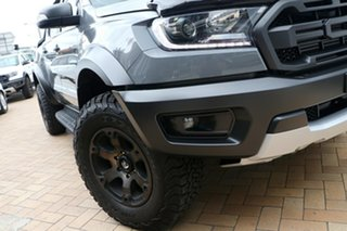 2019 Ford Ranger PX MkIII 2019.75MY Raptor Pick-up Double Cab Conquer Grey 10 Speed Sports Automatic.