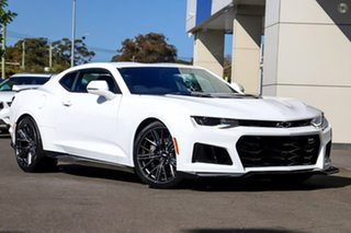 2019 Chevrolet Camaro MY19 ZL1 Summit White 6 Speed Manual Coupe.