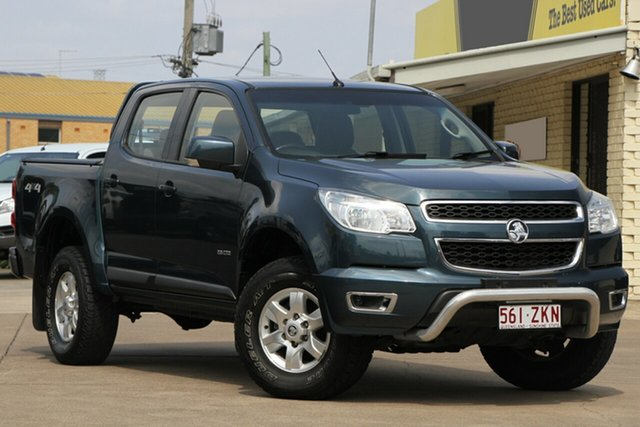 Used Holden Colorado RG MY14 LT Crew Cab, 2013 Holden Colorado RG MY14 LT Crew Cab Blue 6 Speed Sports Automatic Utility