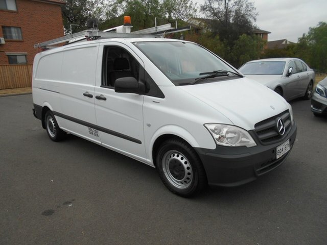 Used Mercedes-Benz Vito MY11 116 CDI LWB, 2011 Mercedes-Benz Vito MY11 116 CDI LWB White 5 Speed Automatic Van