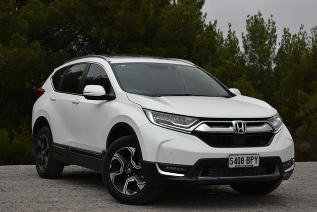 Used Honda CR-V RW MY18 VTi-LX 4WD, 2017 Honda CR-V RW MY18 VTi-LX 4WD White Pearl 1 Speed Constant Variable Wagon