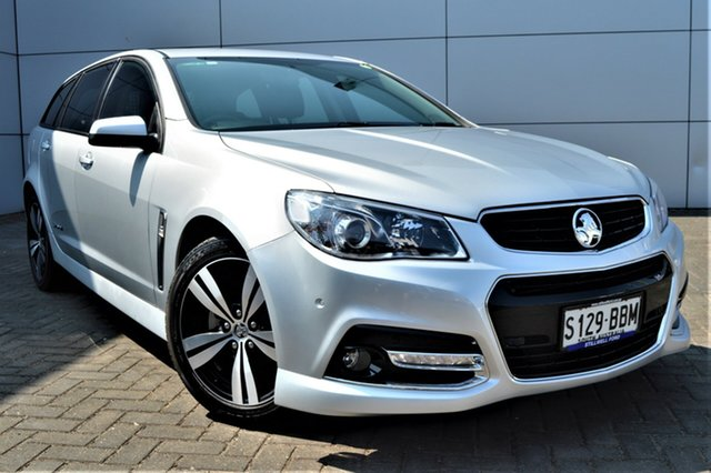 Used Holden Commodore VF MY14 SV6 Sportwagon Storm, 2014 Holden Commodore VF MY14 SV6 Sportwagon Storm Silver 6 Speed Sports Automatic Wagon