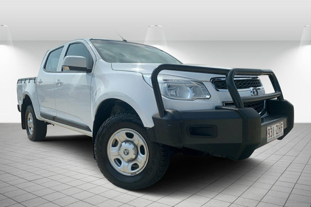 Used Holden Colorado RG MY14 LX Crew Cab, 2013 Holden Colorado RG MY14 LX Crew Cab White 6 Speed Manual Utility