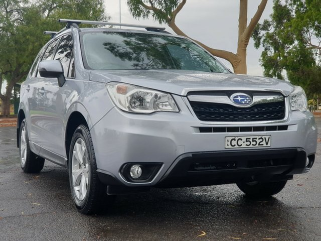 Used Subaru Forester S4 MY13 2.5i-L Lineartronic AWD, 2013 Subaru Forester S4 MY13 2.5i-L Lineartronic AWD Silver 6 Speed Constant Variable Wagon