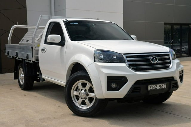 Used Great Wall Steed K2 MY18 4x2, 2019 Great Wall Steed K2 MY18 4x2 White 6 Speed Manual Cab Chassis