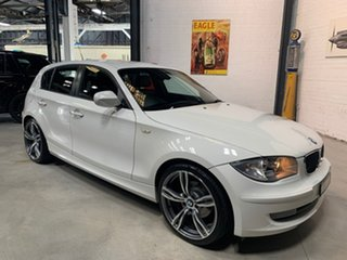 2011 BMW 118i E87 MY11 118i White 6 Speed Automatic Hatchback
