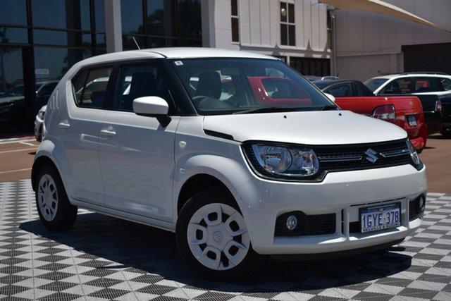 Demo Suzuki Ignis MF GL, 2019 Suzuki Ignis MF GL Pure White 5 Speed Manual Hatchback