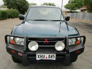 2001 Mitsubishi Pajero NM GLX LWB (4x4) 5 Speed Auto Sports Mode Wagon.