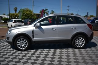 2013 Holden Captiva CG Series II MY12 5 AWD Silver 6 Speed Sports Automatic Wagon