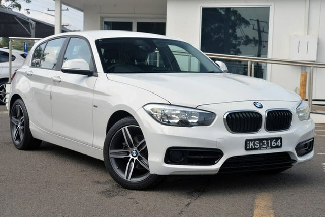 Used BMW 1 Series F20 LCI 118i Steptronic Sport Line, 2016 BMW 1 Series F20 LCI 118i Steptronic Sport Line White 8 Speed Sports Automatic Hatchback