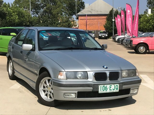Used BMW 323i E36 323i, 1998 BMW 323i E36 323i Silver 5 Speed Automatic Sedan