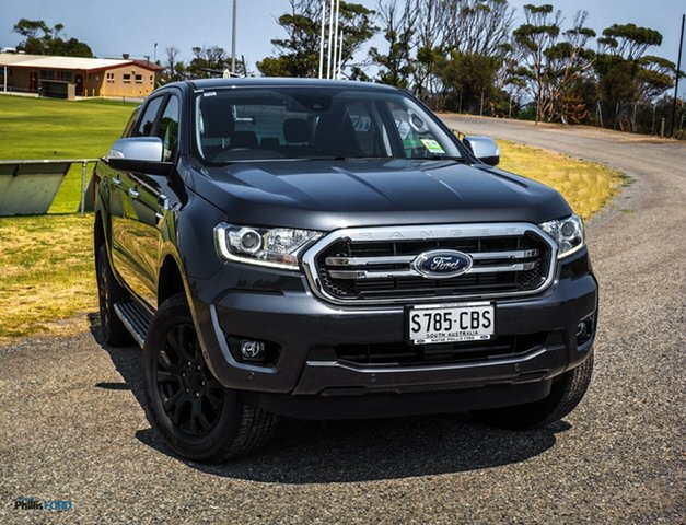 Demo Ford Ranger PX MkIII 2019.75MY XLT Pick-up Double Cab, 2019 Ford Ranger PX MkIII 2019.75MY XLT Pick-up Double Cab Meteor Grey 6 Speed Sports Automatic