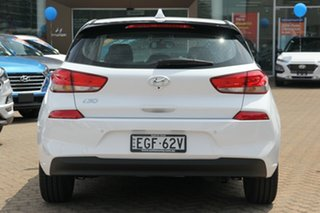 2019 Hyundai i30 PD2 MY20 Active Polar White 6 Speed Automatic Hatchback
