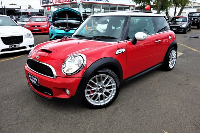 Used Mini Hatch R56 John Cooper Works, 2008 Mini Hatch R56 John Cooper Works Red 6 Speed Manual Hatchback