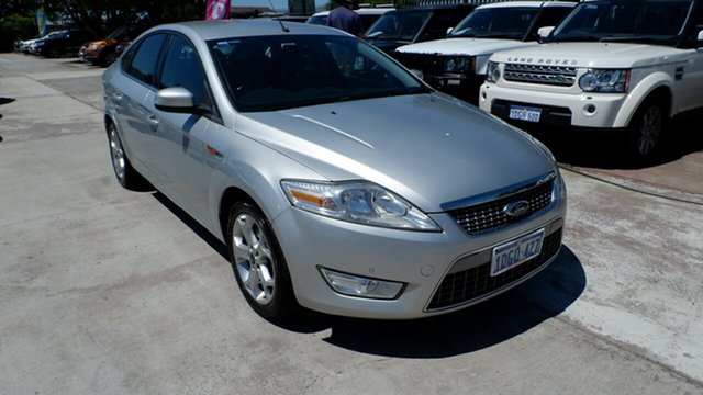 Used Ford Mondeo MA Zetec, 2009 Ford Mondeo MA Zetec Silver 6 Speed Sports Automatic Hatchback