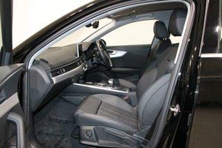 2019 Audi A4 8W MY19 35 TFSI S Tronic Sport Brilliant Black 7 Speed Auto Dual Clutch Sedan