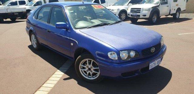 Used Toyota Corolla AE112R Ascent Seca, 2000 Toyota Corolla AE112R Ascent Seca Blue 4 Speed Automatic Liftback